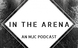 in the arena logo